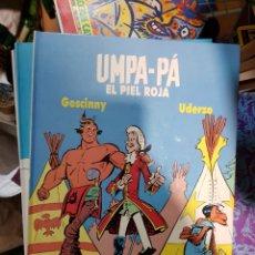 Cómics: UMPA - PA. GOSCINNY. UDERZO COLECCION COMPLETA 1 2 3 4 5 EDICIONES AKAL. 1989 TAPA DURA. Lote 168333056