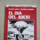 Cómics: EL DIA DEL JUICIO BIBLIOTECA MP DE NOVELA GRAFICA Nº 4 - SOLANO LÓPEZ Y RICARDO BARREIRO. Lote 168352748
