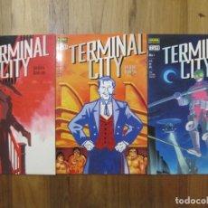 Cómics: TERMINAL CITY , COMPLETA 3 NÚM , NORMA EDITORIAL, COLECCIÓN VERTIGO DC COMICS. Lote 168425160