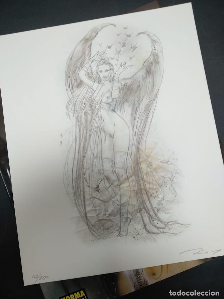 Cómics: FANTASTIC ART LUIS ROYO + LITOGRAFÍA NUMERADA NORMA EDITORIAL - Foto 2 - 168477780