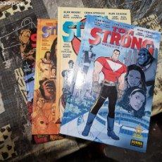 Cómics: TOM STRONG, DE ALAN MOORE. TOMOS 1 2 3 4 EDITA NORMA TAPA DURA. Lote 168864480