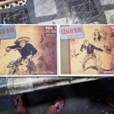 Cómics: CISCO KID CLASSIC COMIC PRESS VOLUMEN 1 Y 2 1951 A 1955 TAPA DURA DE LUJO EN INGLES. Lote 168864900