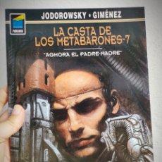 Cómics: LA CASTA DE LOS METABARONES Nº 7 - AGHORA EL PADRE-MADRE - A. JODOROWSKY.. Lote 168971764