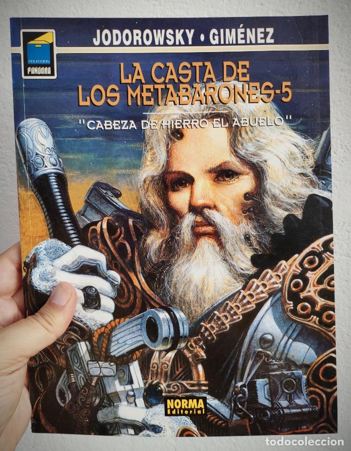 LA CASTA DE LOS METABARONES Nº 5 - CABEZA DE HIERRO EL ABUELO - A. JODOROWSKY. (Tebeos y Comics - Norma - Comic Europeo)