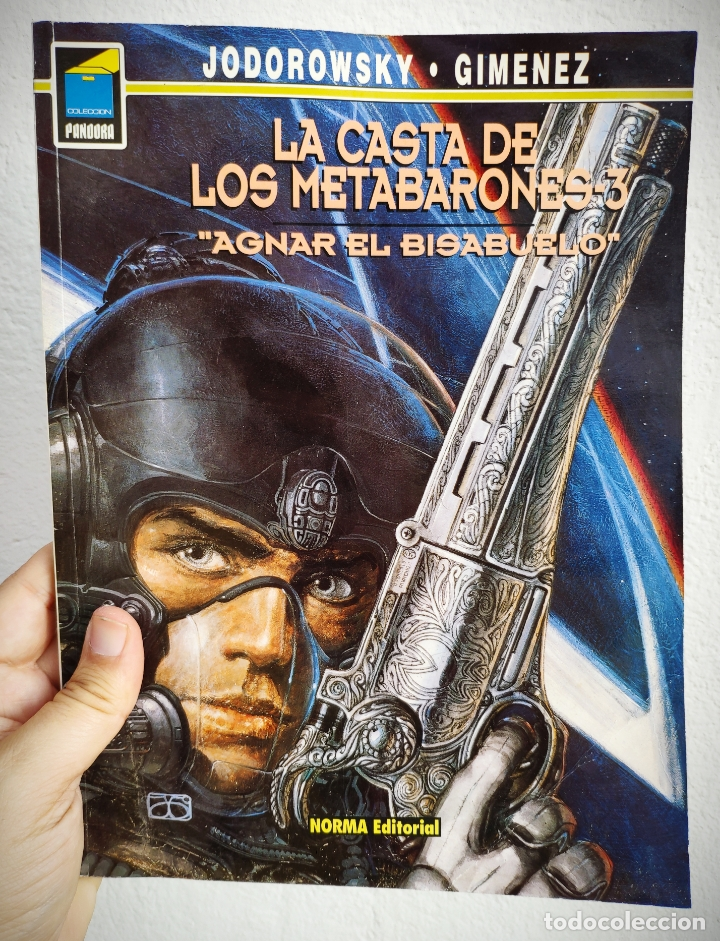 LA CASTA DE LOS METABARONES Nº 3 - AGNAR EL BISABUELO - A. JODOROWSKY. (Tebeos y Comics - Norma - Comic Europeo)