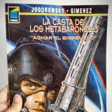 Cómics: LA CASTA DE LOS METABARONES Nº 3 - AGNAR EL BISABUELO - A. JODOROWSKY.. Lote 168972040