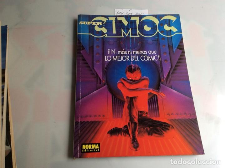 CIMOC - TOMO RECOPILATORIO CONTIENE Nº 104, 105, 106, - EDITA : NORMA - AÑOS 80 (Tebeos y Comics - Norma - Cimoc)