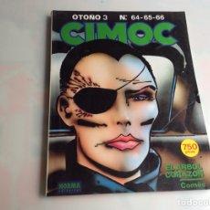 Cómics: CIMOC - TOMO RECOPILATORIO CONTIENE Nº 64, 65, 66, - EDITA : NORMA - AÑOS 80. Lote 169042224