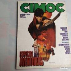 Cómics: CIMOC EXTRA Nº 4. ESPECIAL AVENTURAS. Lote 176994665