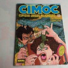 Cómics: CIMOC ESPECIAL JUEGOS PELIGROSOS Nº 8 , OCHO HISTORIAS COMPLETAS. Lote 169051344