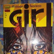 Cómics: GIRL: PETER MILLIGAN-DUNCAN FEGREDO: VERTIGO: NORMA. Lote 61006271