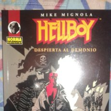Cómics: HELLBOY: DESPIERTA AL DEMONIO: MIKE MIGNOLA: NORMA. Lote 60999795