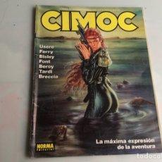 Cómics: CIMOC Nº 114 - EDITA : NORMA . Lote 169075372
