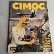 Cómics: CIMOC Nº 109 - EDITA : NORMA . Lote 169075392
