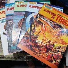Cómics: EL IMPERIO DE TRIGAN COLECCION COMPLETA. 5 ALBUMES DE NORMA EDITORIAL. Lote 169078076