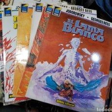 Cómics: EL LAMA BLANCO COLECCION COMPLETA. 6 ALBUMES NORMA. JODOROWSKY & BESS PANDORA 1989.. Lote 169094236