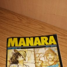 Cómics: MANARA N°11. Lote 169219060