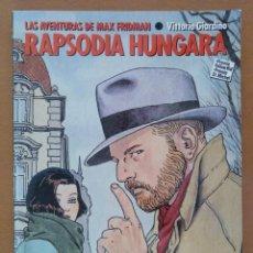 Cómics: NORMA EDITORIAL ALBUMES CAIRO Nº 5 AVENTURAS MAX FRIDMAN RAPSODIA HUNGARA. Lote 169269200