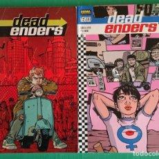Cómics: DEADENDERS (2 TOMOS), DE ED BRIBAJER Y WARREN PLEECE. Lote 169443996