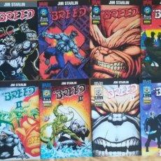 Cómics: BREED Y BREED II COMPLETA BUEN ESTADO. Lote 169691040