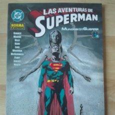 Cómics: LAS AVENTURAS DE SUPERMAN. MUNDOS EN GUERRA Nº 4. Lote 169804278