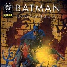Cómics: COMIC13 * BATMAN, LEYENDA DEL SEÑOR DE LA NOCHE, INFECTADO. Lote 169816800