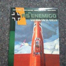 Comics: EL AS ENEMIGO - GUERRA EN EL CIELO. Lote 169863504