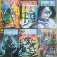 Cómics: TERMINATOR OBJETIVOS SECUNDARIOS COMPLETA Y TERMINATOR 1 Y 2. Lote 169901196