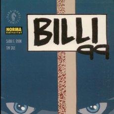 Cómics: TIM SALE.BILLI 99. NORMA. RUSTICA. 200 PAGINAS.DIBUJANTE DE EL LARGO HALLOWEEN. Lote 231830230