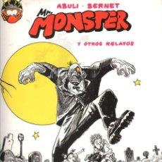 Comics: SANCHEZ ABULI JORDI BERNET. AUTORES DE TORPEDO. MONSTER. OBRA COMPLETA. RUSTICA. Lote 215424011