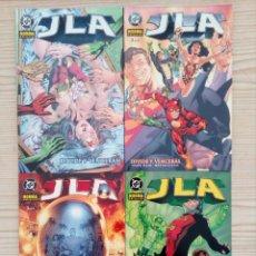 Cómics: JLA - DIVIDE Y VENCERAS - 4 TOMOS COMPLETA - NORMA. Lote 170276492