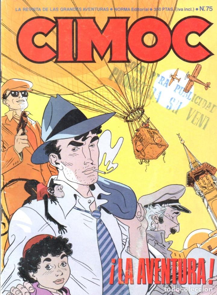 Cómics: CIMOC Nº 46 - 50 - 51 - 73 - 75 - Foto 4 - 170524648