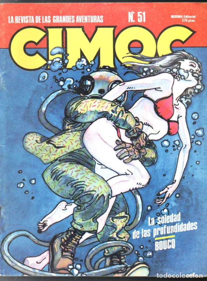 Cómics: CIMOC Nº 46 - 50 - 51 - 73 - 75 - Foto 6 - 170524648