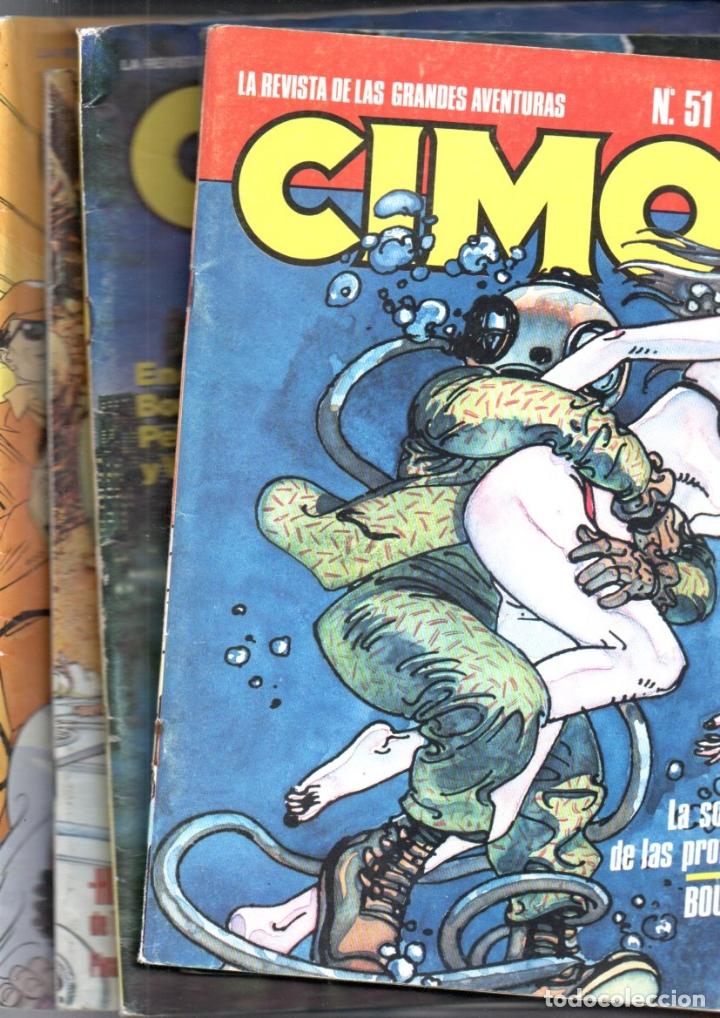 CIMOC Nº 46 - 50 - 51 - 73 - 75 (Tebeos y Comics - Norma - Cimoc)