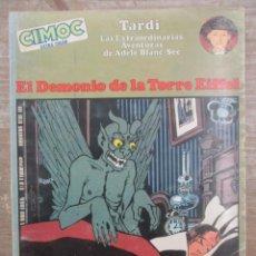 Cómics: EL DEMONIO DE LA TORRE EIFFEL - AVENTURAS DE ADELE - TARDI - CIMOC EXTRA COLOR - NORMA. Lote 170863525