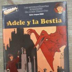 Cómics: ADELE Y LA BESTIA - AVENTURAS DE ADELE Nº 1 - TARDI - CIMOC EXTRA COLOR - NORMA. Lote 170863675