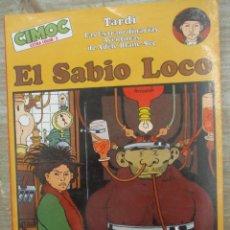 Cómics: EL SABIO LOCO - AVENTURAS DE ADELE Nº 2 - TARDI - CIMOC EXTRA COLOR - NORMA. Lote 170863815