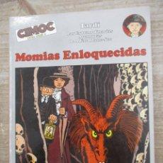 Cómics: MOMIAS ENLOQUECIDAS - AVENTURAS DE ADELE Nº 4 - TARDI - CIMOC EXTRA COLOR - NORMA. Lote 170863930