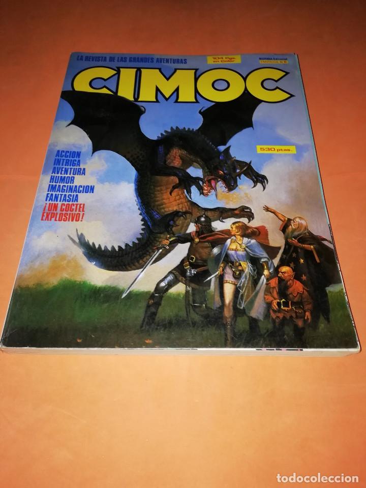 CIMOC. RETAPADO. INCLUYE Nº 56,57,58. BUEN ESTADO. (Tebeos y Comics - Norma - Cimoc)