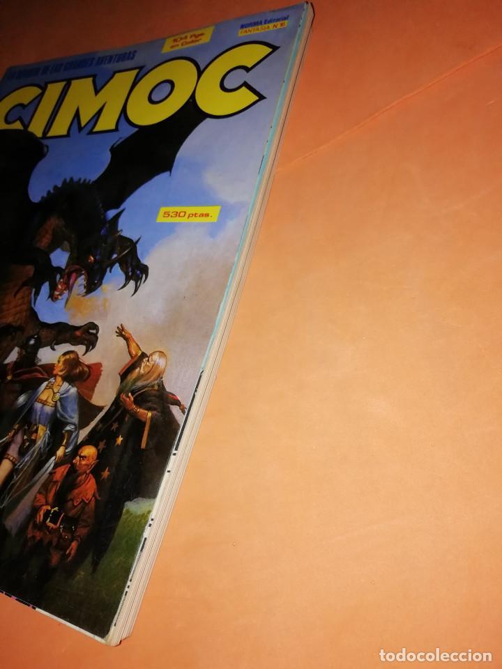 Cómics: CIMOC. RETAPADO. INCLUYE Nº 56,57,58. BUEN ESTADO. - Foto 3 - 171010249