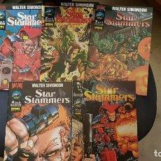 Cómics: WALTER SIMONSON - STAR SLAMMERS (OBRA COMPLETA 6 NUMEROS) - BRAVURA - NORMA. Lote 171054887