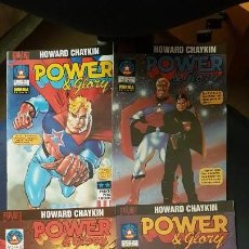 Cómics: POWER & GLORY (OBRA COMPLETA 4 NUMEROS) - BRAVURA - NORMA. Lote 171055054