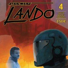 Cómics: COMIC - STAR WARS - LANDO - 4 - PLANETA CÓMIC - NUEVO / N-8916. Lote 171061202