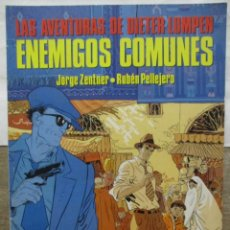Cómics: LAS AVENTURAS DE DIETER LUMPEN - ENEMIGOS COMUNES - JORGE ZENTNER - CIMOC EXTRA - NORMA EDITORIAL. Lote 171104372