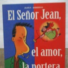 Cómics: EL SEÑOR JEAN - EL AMOR DE LA PORTERA - CIMOC EXTRA - NORMA EDITORIAL. Lote 171104689