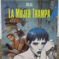 Cómics: LA MUJER TRAMPA - ENKI BILAL - CIMOC EXTRA COLOR - NORMA EDITORIAL. Lote 171123522