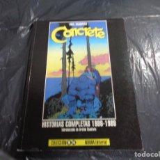 Cómics: CONCRETE HISTORIAS COMPLETAS 1986-1989 (PAUL CHADWICK) NORMA COLECCIÓN B/N 25.CS. Lote 171179007