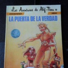 Cómics: LA PUERTA DE LA VERDAD - LAS AVENTURAS DE ALEF-THAU Nº 7 NORMA EDITORIAL . Lote 171215453