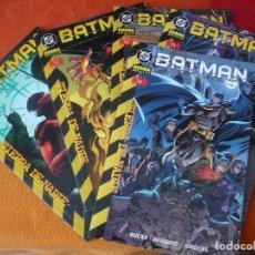 Cómics: BATMAN NºS 10, 11, 12, 13 Y 14 TIERRA DE NADIE ( RUCKA GALE ) ¡MUY BUEN ESTADO! NORMA DC. Lote 171298068