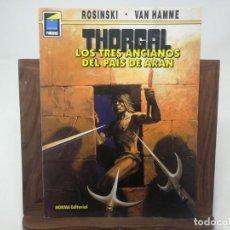 Cómics: THORGAL. TRES ANCIANOS PAÍS ARAN. NORMA COLECCIÓN PANDORA. ROSINSKI/VAN HAMME. PRIMERA EDICIÓN 1995. Lote 171360360